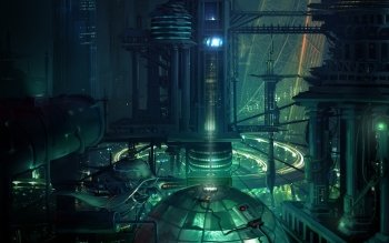 Science-Fiction - Großstadt Wallpapers and Backgrounds ID : 145430