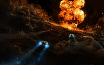 Sci Fi - Spaceship Wallpapers and Backgrounds ID : 145902