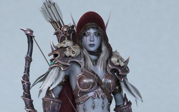 Fantasy Archer Warcraft HD Wallpaper   Background Image