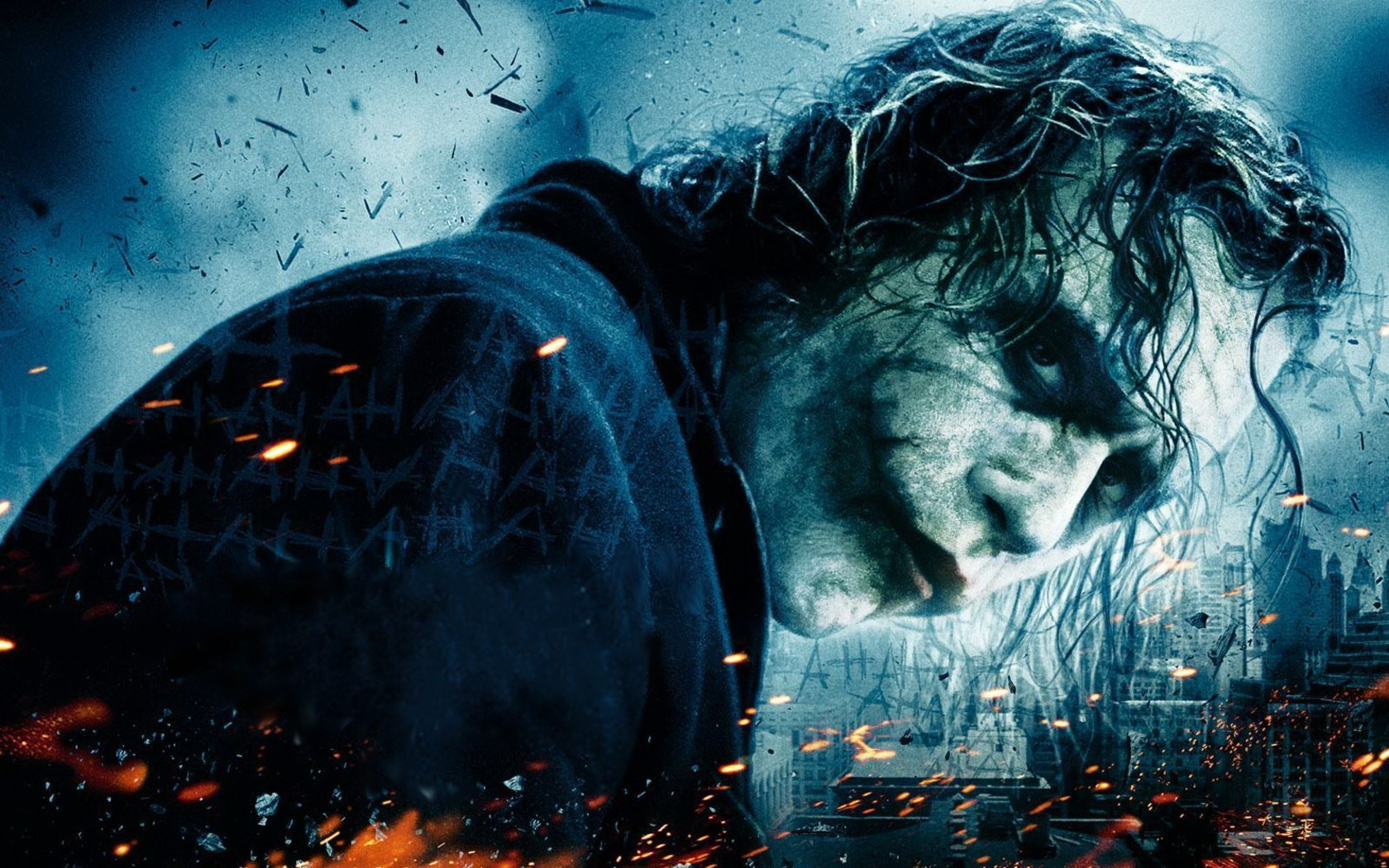 Films - The Dark Knight  - Joker - Batman - Films - Donker Achtergrond