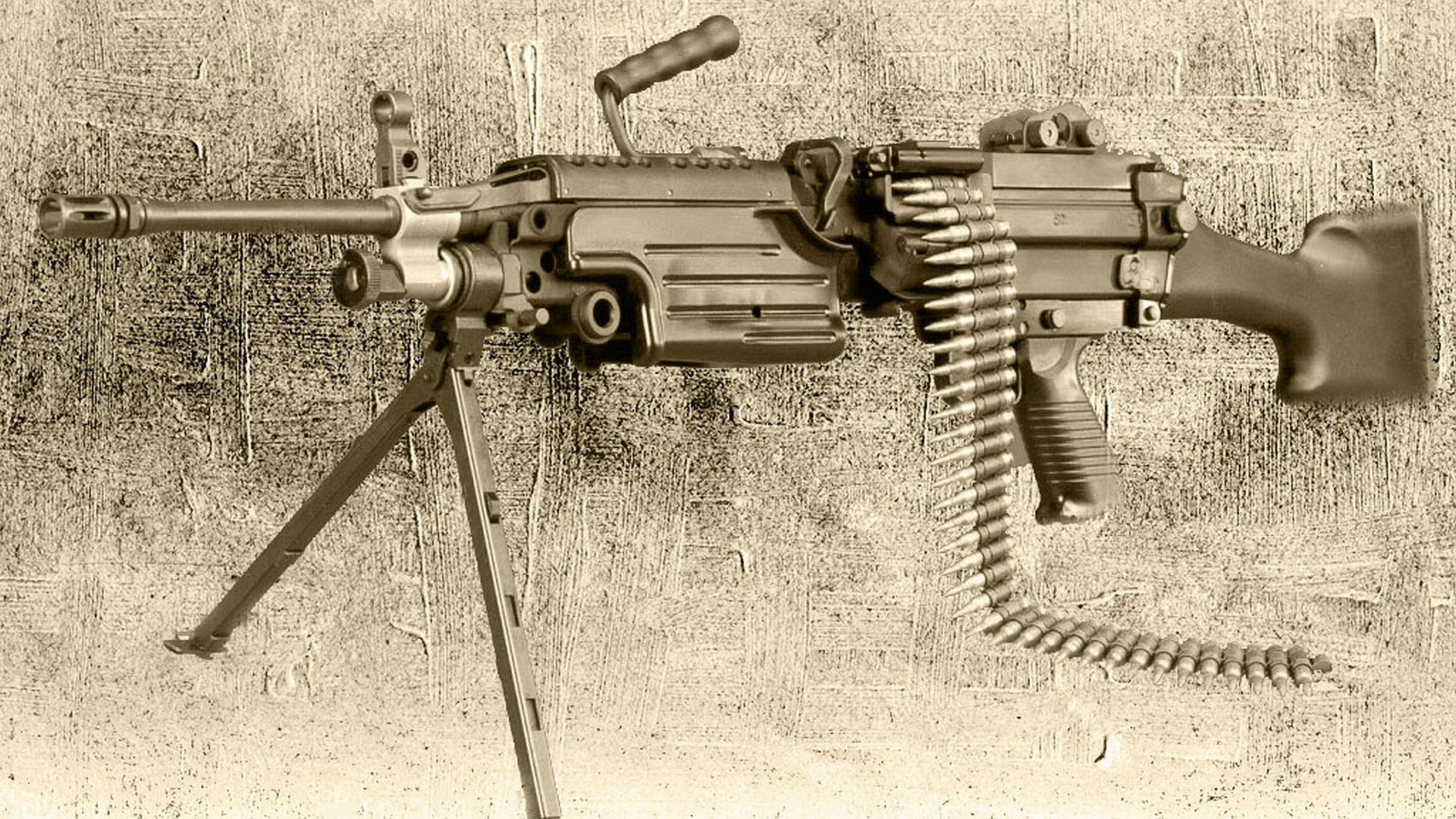 Machine Gun HD Wallpaper   Background Image   1920x1080 ...