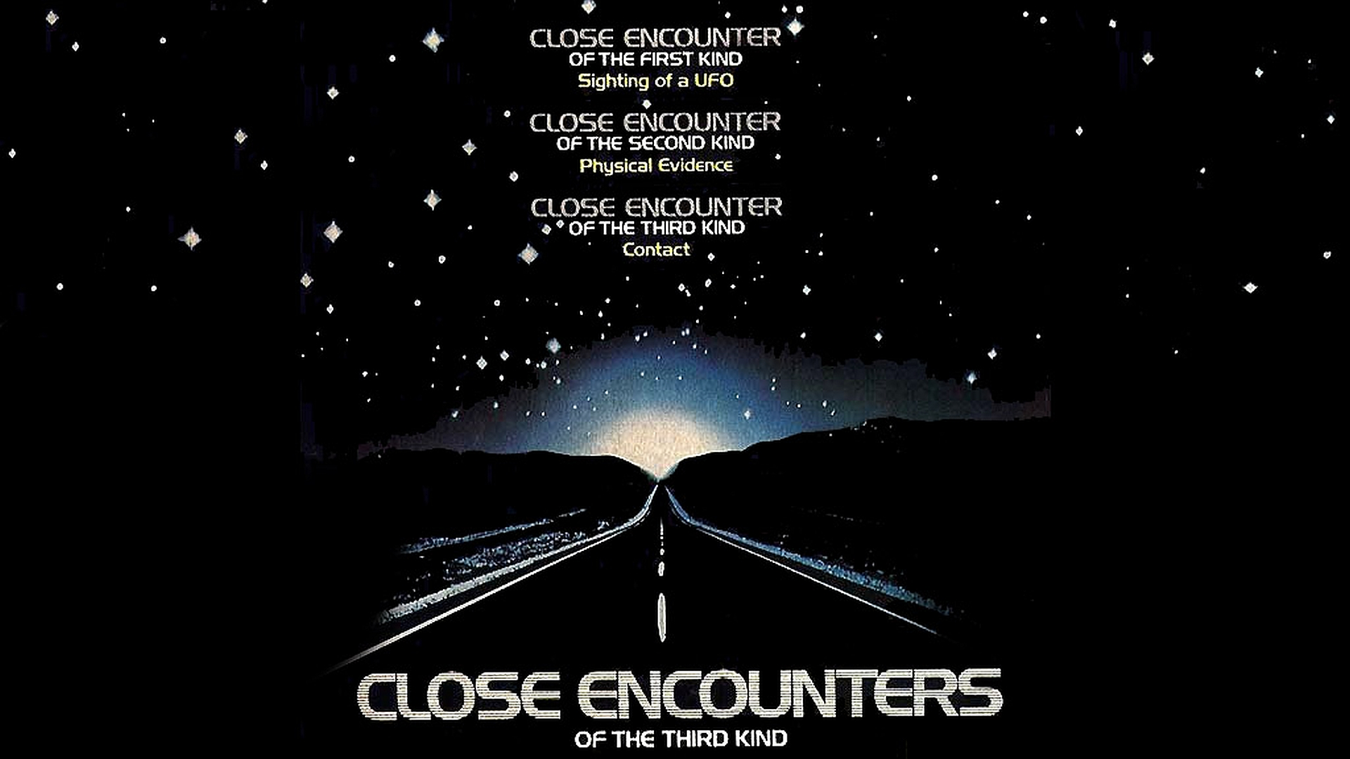 Close Encounters Of The Third Kind Hd Wallpaper Background Image