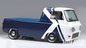 Preview Vehicles - 1961 Ford Econoline Art