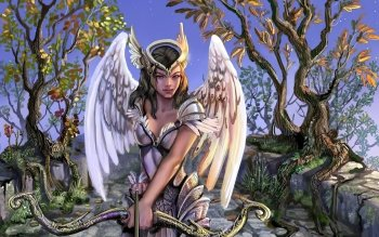Fantasy - Angel Warrior Wallpapers and Backgrounds ID : 154212
