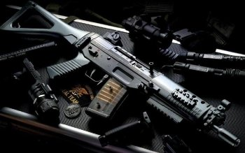Weapons - Assault Rifle Wallpapers and Backgrounds ID : 154240