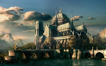 Fantasy - Building Wallpapers and Backgrounds ID : 154390