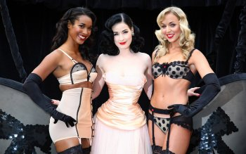 Beroemdheden - Dita Von Teese Wallpapers and Backgrounds ID : 154510