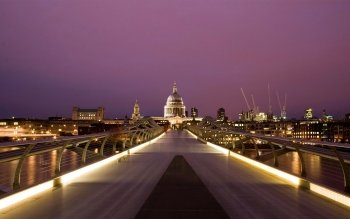 Man Made - Millennium Bridge Wallpapers and Backgrounds ID : 155172