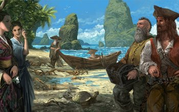 Fantasy - Pirate Wallpapers and Backgrounds ID : 156632