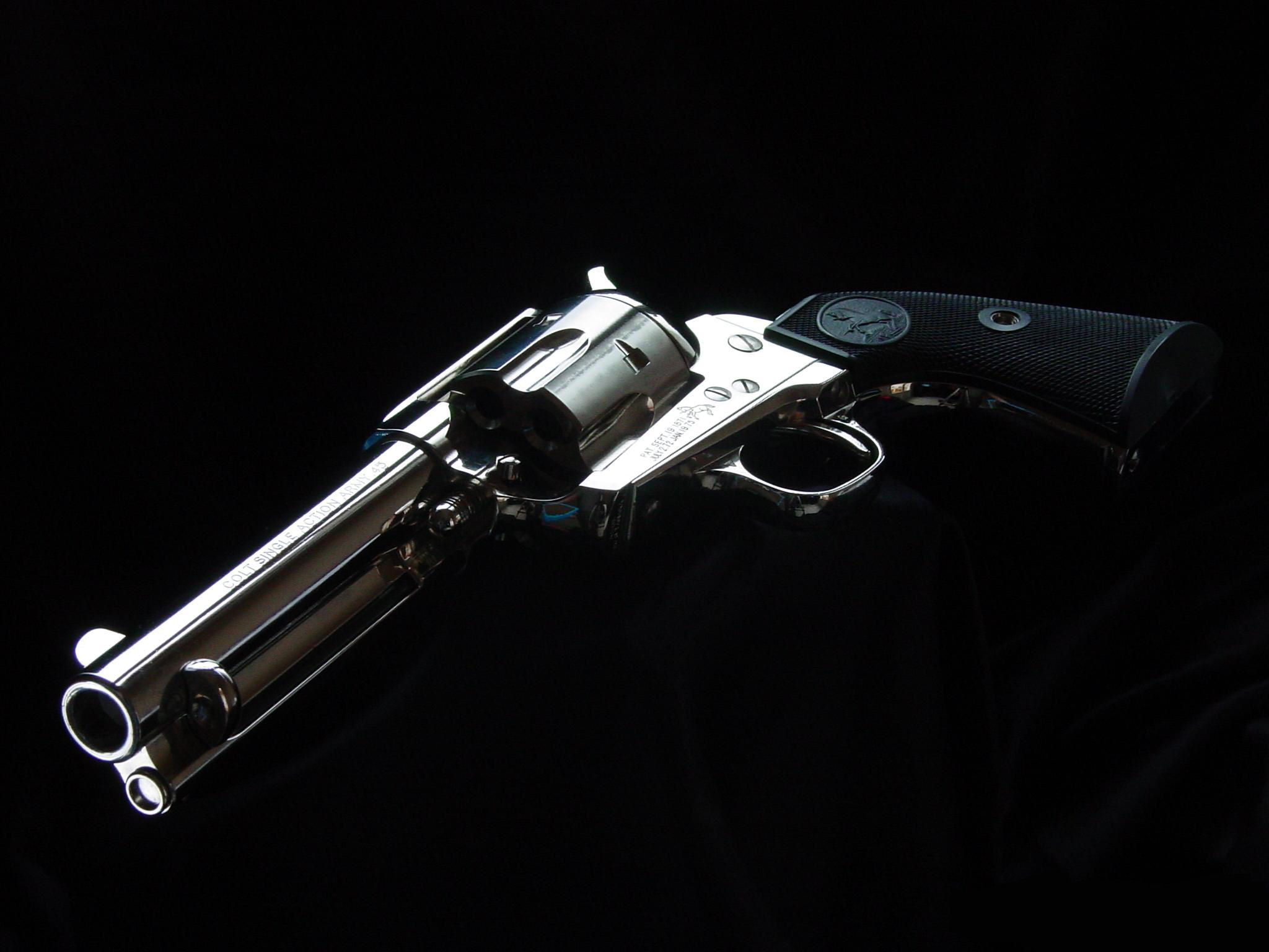 Weapons - Colt Revolver Wallpaper