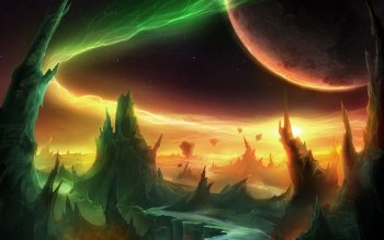 Sci Fi - Landscape Wallpapers and Backgrounds ID : 159470
