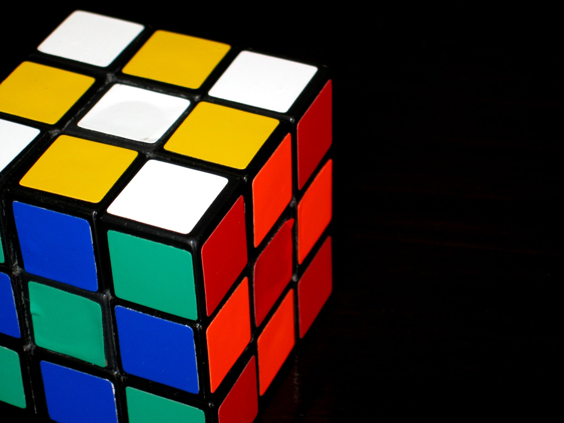 Game - Rubik's Cube  Colors Wallpaper