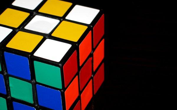 Spel Rubik's Cube Färger HD Wallpaper | Background Image