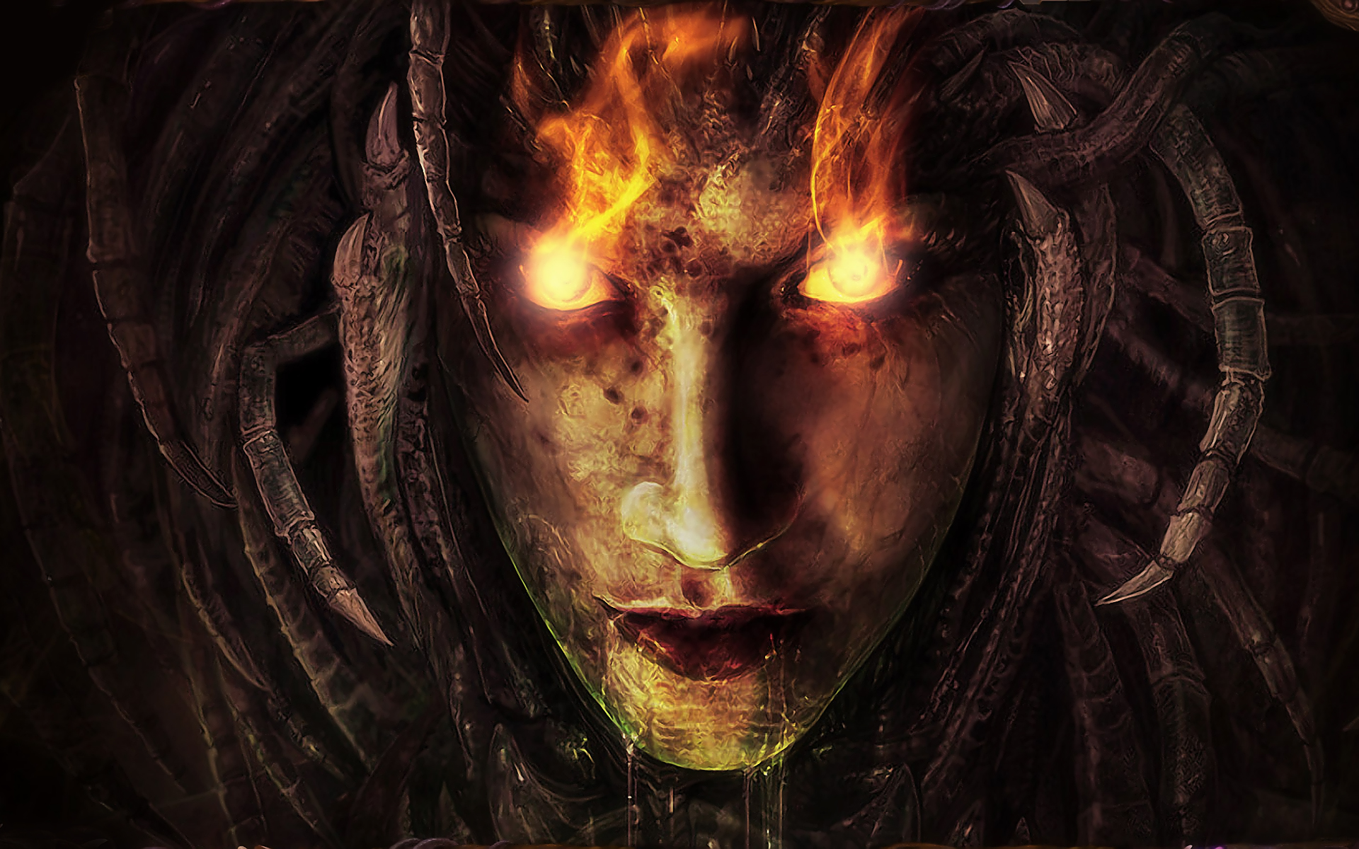 Alpha Coders   Wallpaper Abyss Dark Demon 162912