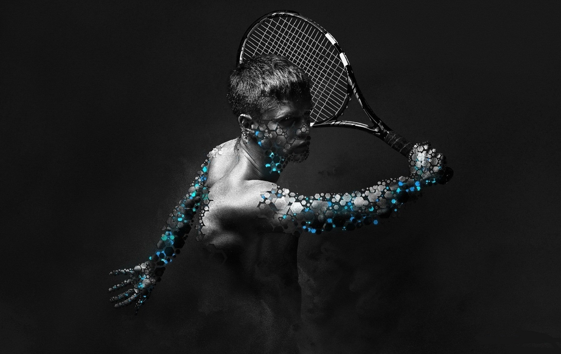 Sports - Artistic  Manipulation Photography Fantasy Wallpaper