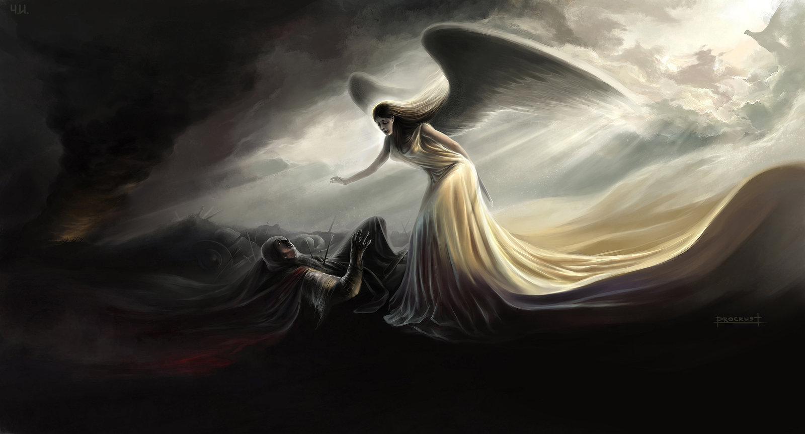 Angel Wallpaper and Background Image | 1600x862 | ID ...