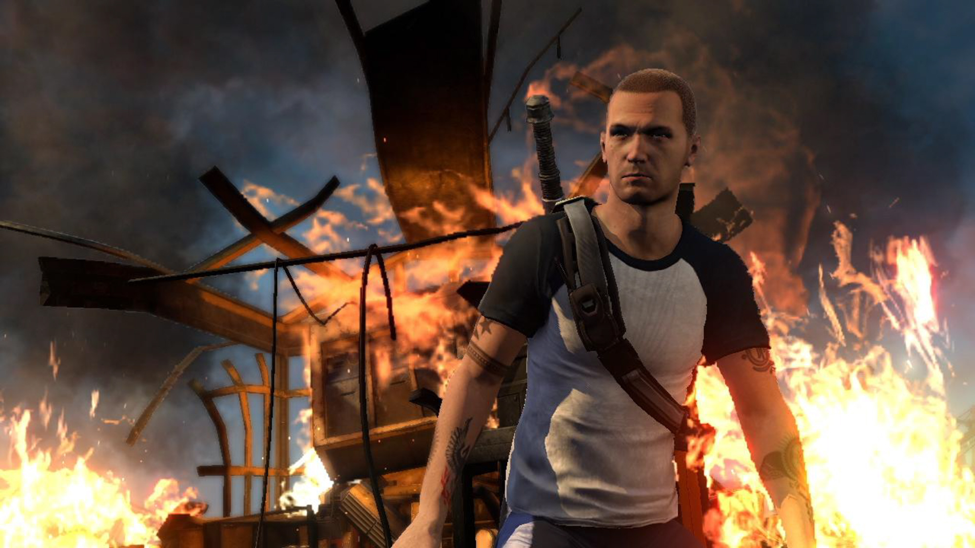 Cole ~ inFamous 2 Full HD Wallpaper and Background ...