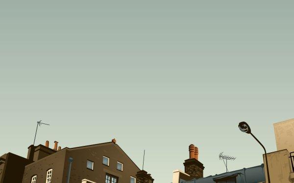 Hecho por el hombre Casa Edificios Street Light Fondo de pantalla HD | Fondo de Escritorio