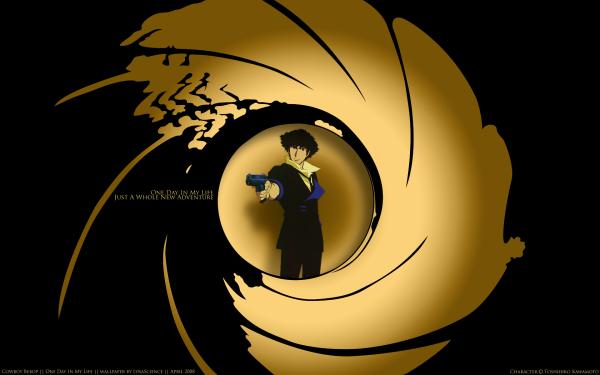 Anime Cowboy Bebop Spike Spiegel James Bond HD Wallpaper   Background Image