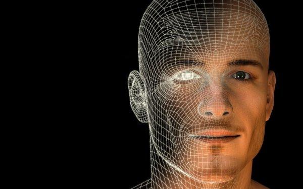 Artistic Face 3D Eye Black Science HD Wallpaper | Background Image