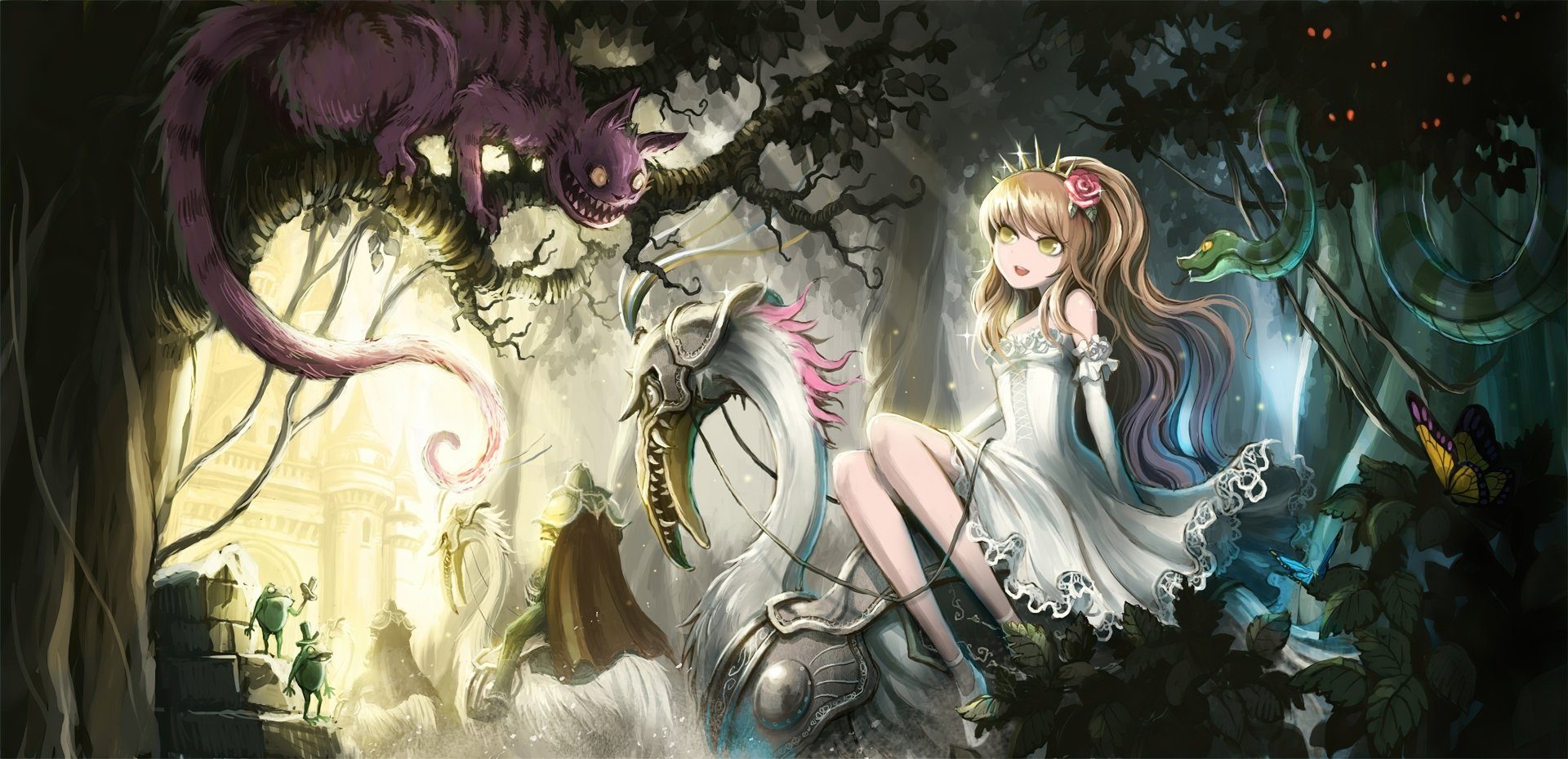 98 alice in wonderland hd wallpapers | background images - wallpaper