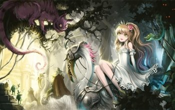 Anime - Alice In Wonderland Wallpapers and Backgrounds ID : 170210