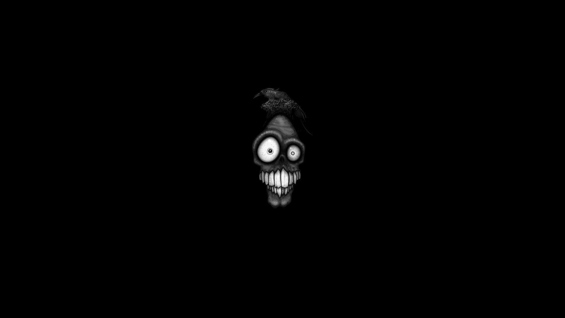 Scary face full hd wallpaper and background image 1920x1080 id humor funny wallpaper voltagebd Image collections
