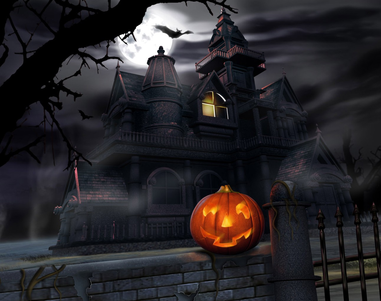 494 Halloween HD Wallpapers : Backgrounds - Wallpaper Abyss