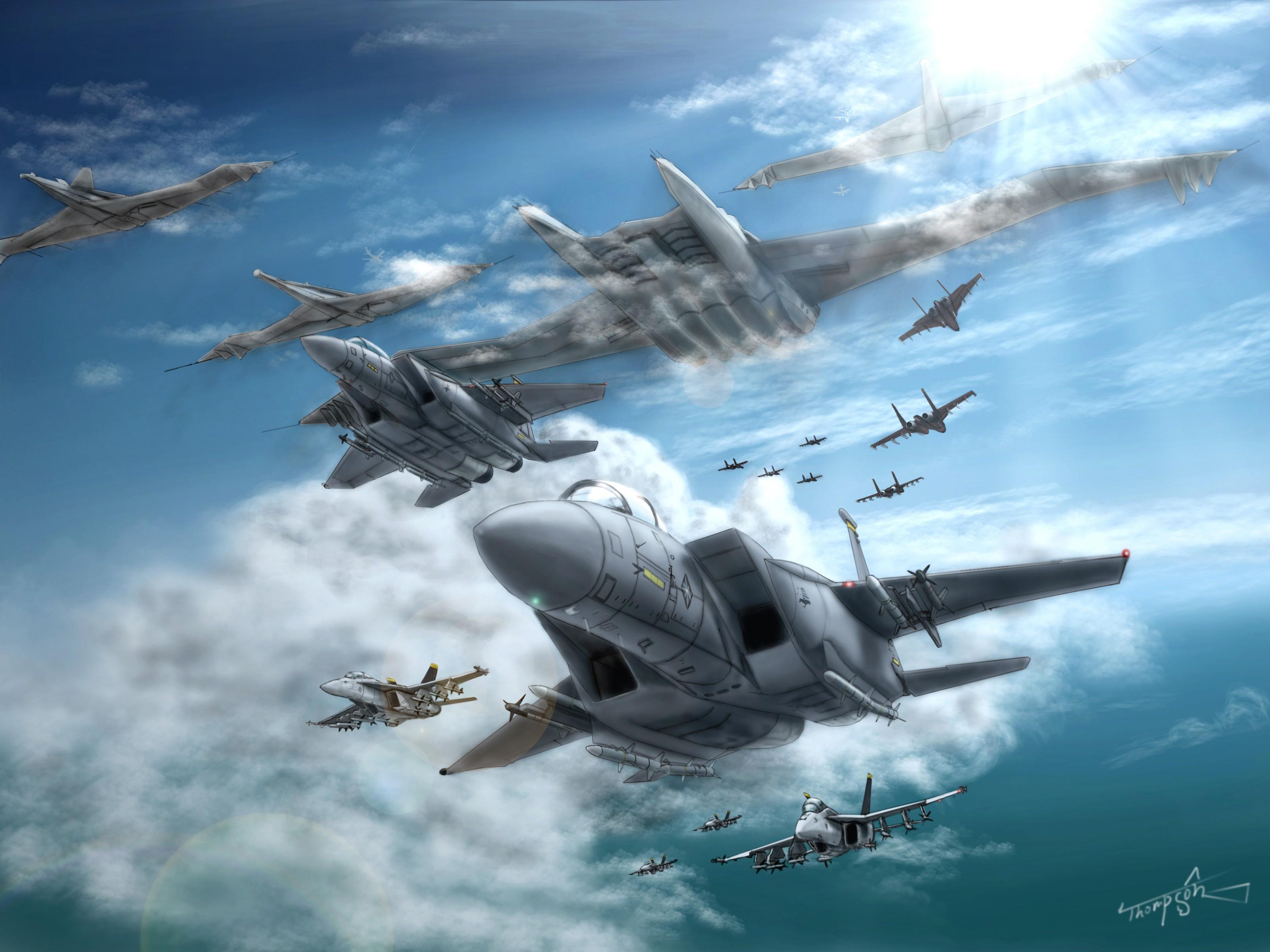 Ace Combat HD Wallpaper