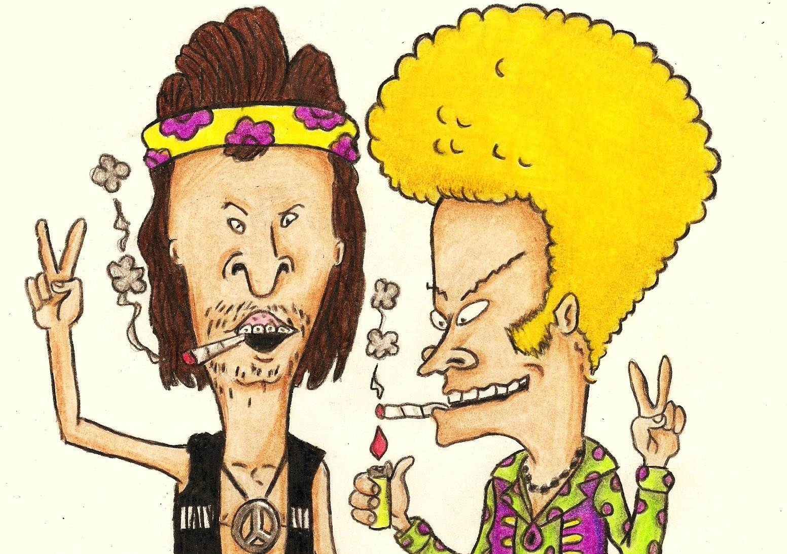 Beavis And Butt-Head Wallpaper And Background Image  1552X1092  Id174032-1990
