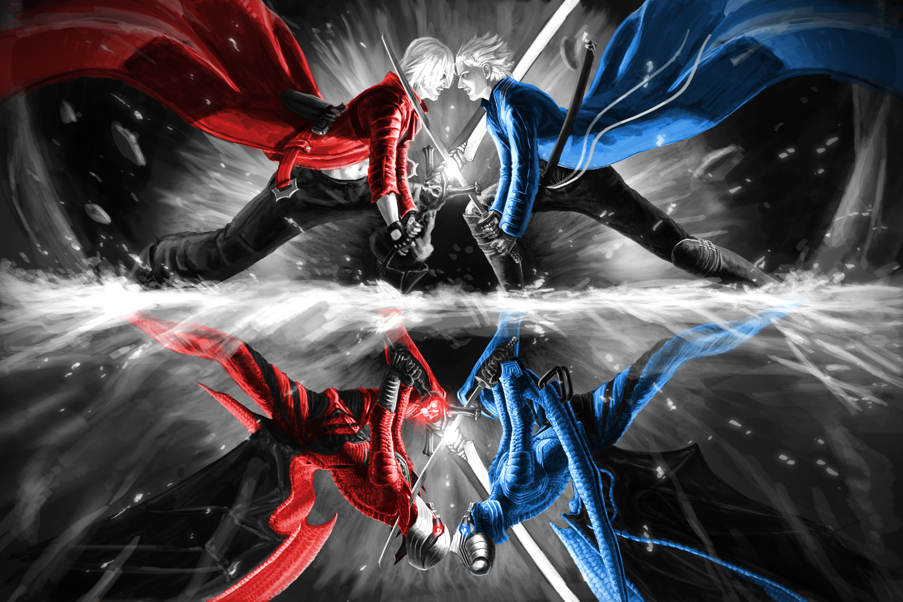 406 Devil May Cry Hd Wallpapers Background Images Wallpaper Abyss