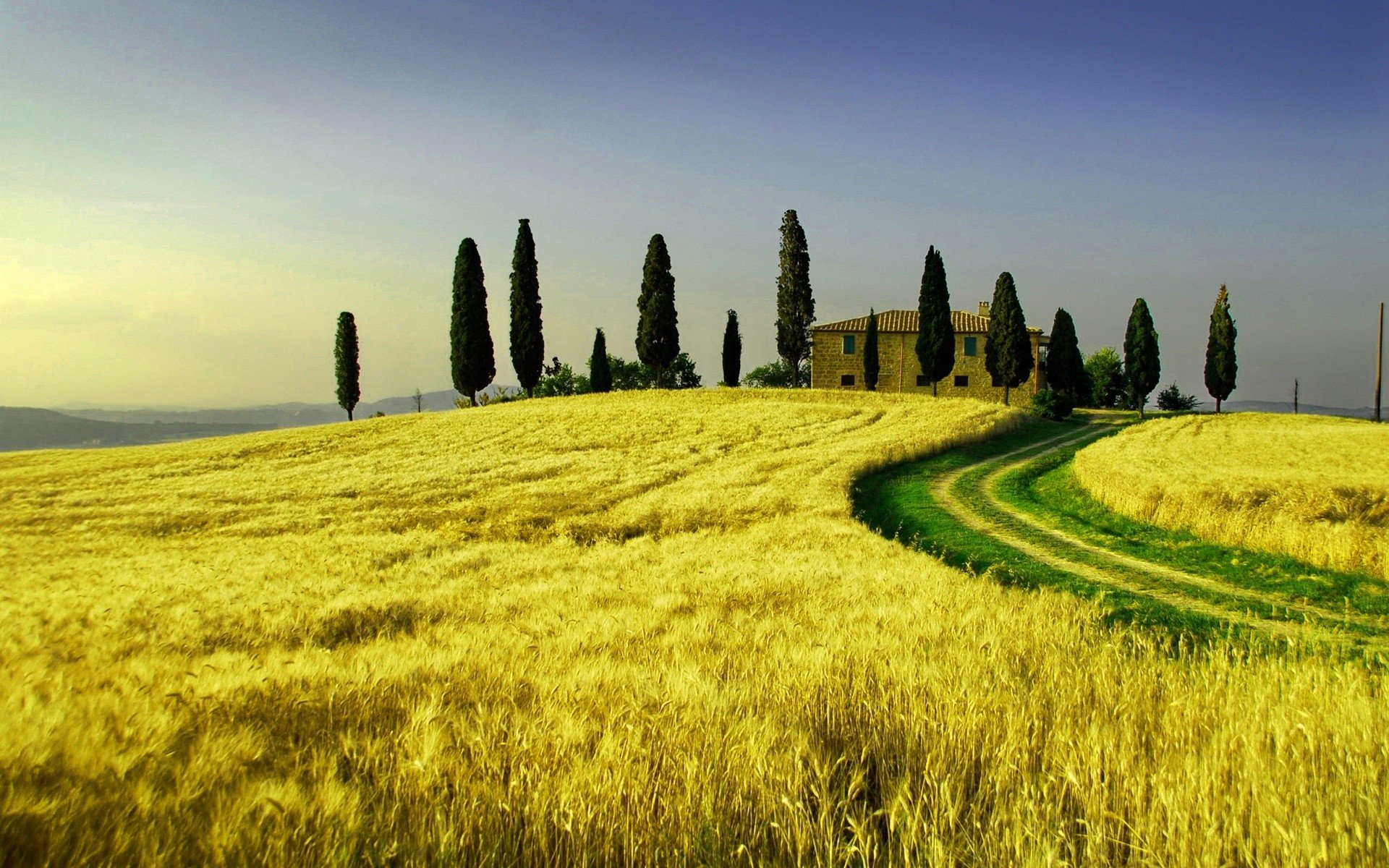 Man Made - House  Tuscany Wallpaper