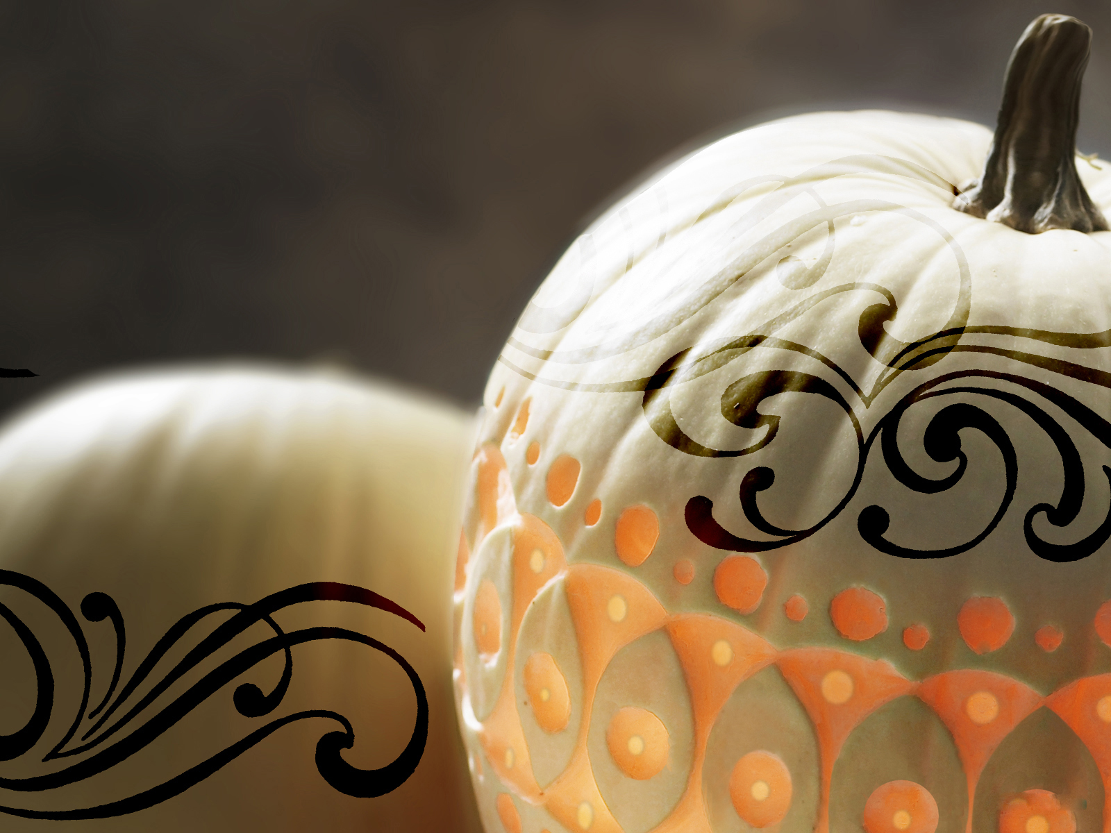 Tattoo On Pumpkin Wallpaper And Background Image 1600x1200 Id