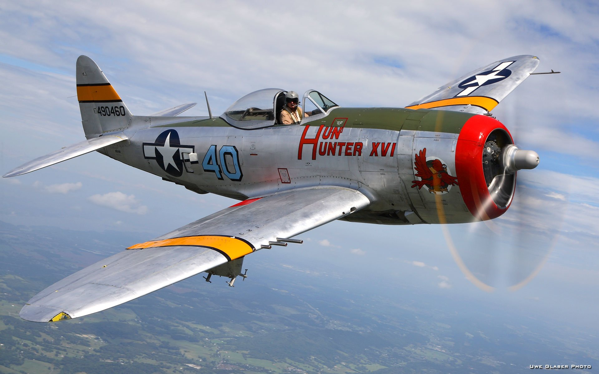 P 47 Thunderbolt Wallpaper Republic P-47 Thunderb...