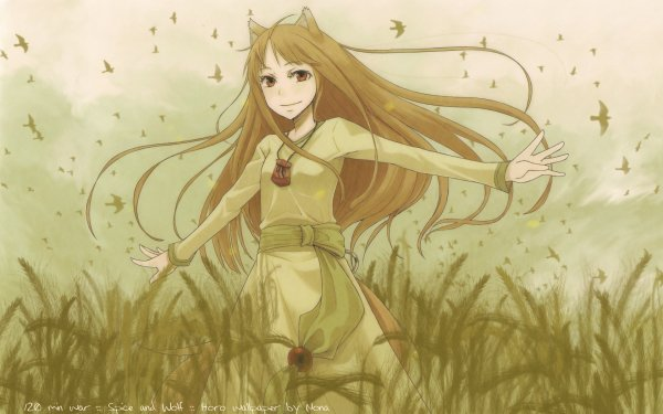 Anime Spice and Wolf HD Wallpaper | Hintergrund