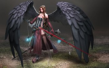 Fantasy - Angel Warrior Wallpapers and Backgrounds ID : 179412