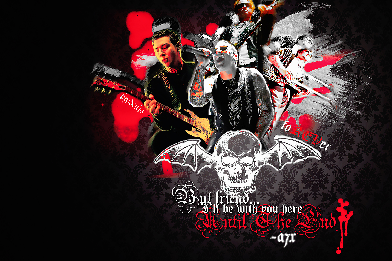 Avenged sevenfold wallpaper and background image 1500x1000 id180050 music avenged sevenfold wallpaper download voltagebd Choice Image