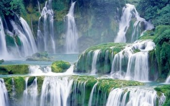 Earth - Waterfall Wallpapers and Backgrounds ID : 180530