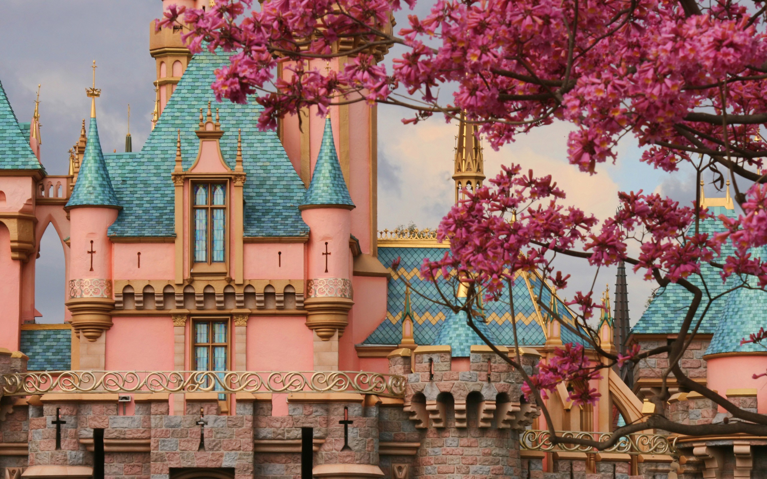 Castle Full HD Wallpaper And Background Image