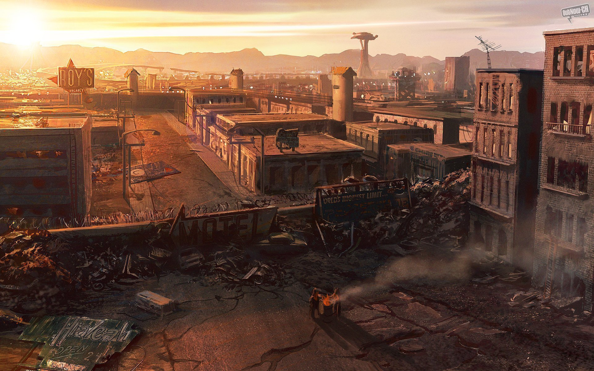Post Apocalyptic Full HD Wallpaper and Background ...