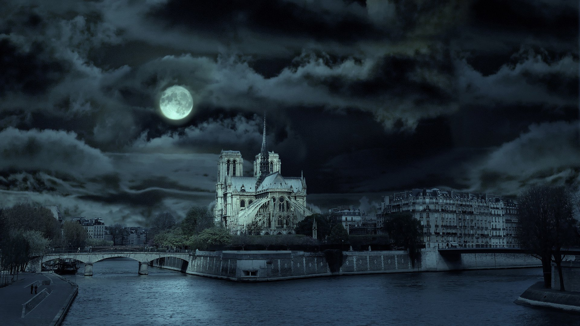 35 Notre Dame De Paris Hd Wallpapers Background Images Wallpaper Abyss