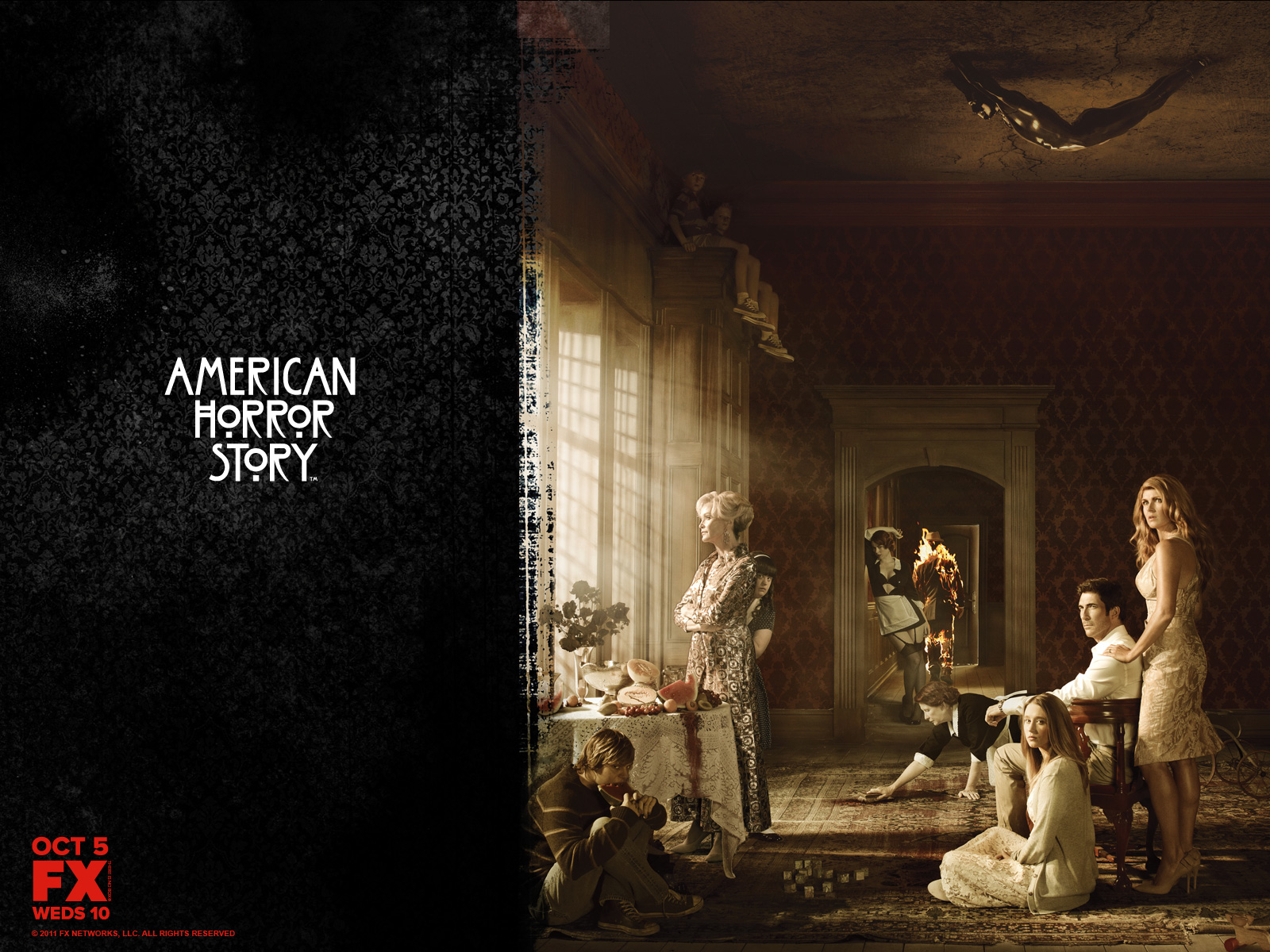 Poster wallpaper and background image 1600x1200 id - Ahs wallpaper ...