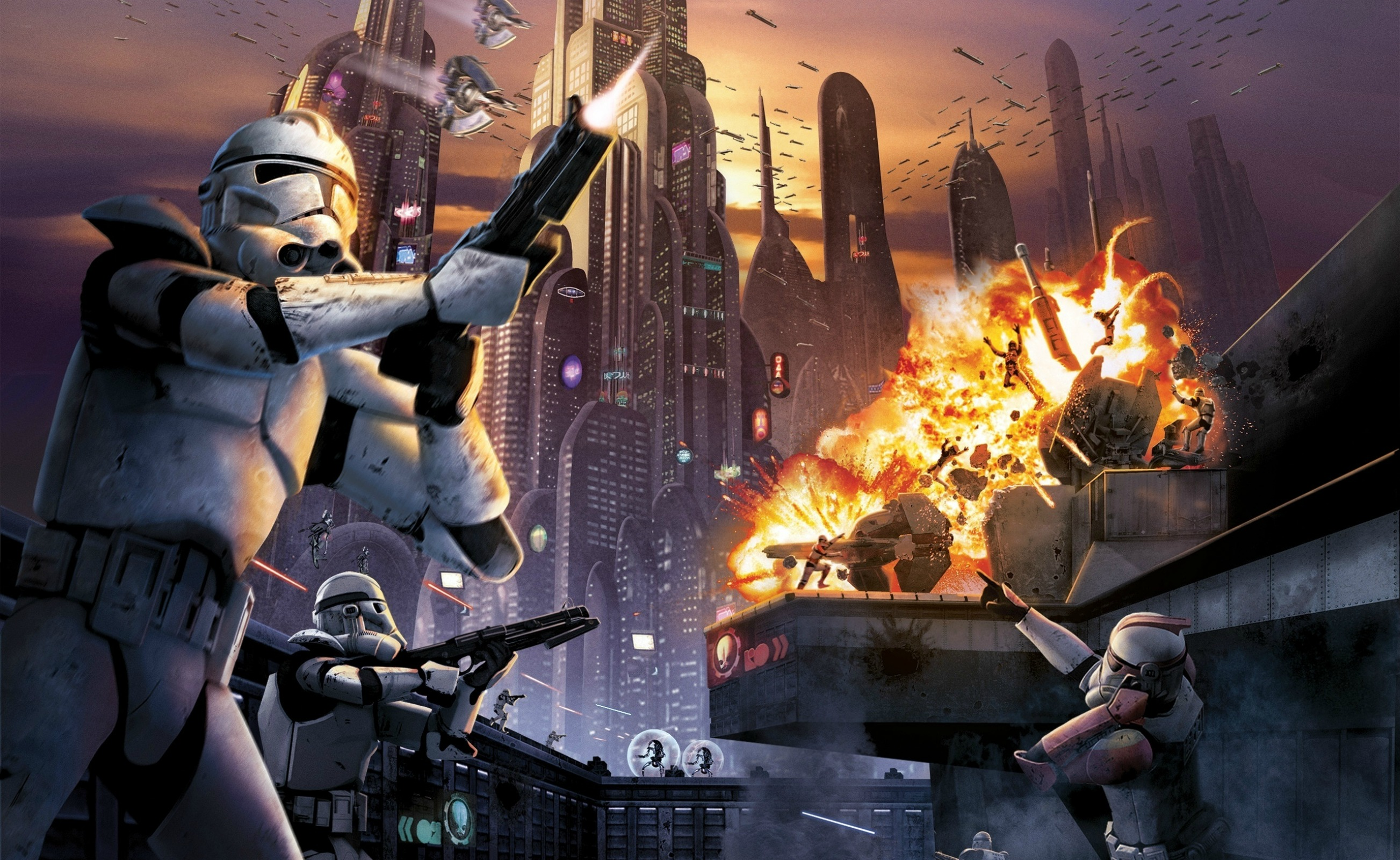 Star Wars Battlefront II HD Wallpaper