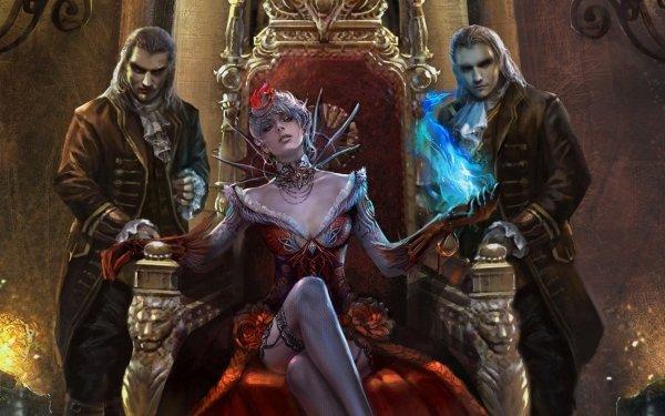 Fantasía Bruja Vampiro Fondo de pantalla HD | Fondo de Escritorio