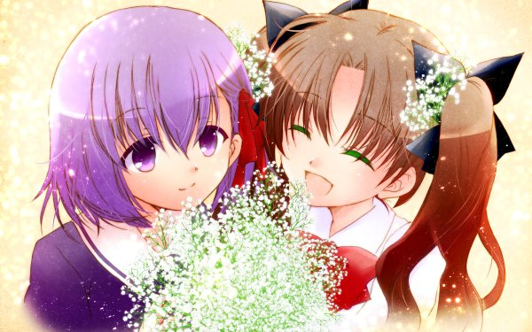 Anime Fate/zero Fate Series Rin Tohsaka Sakura Matou HD Wallpaper | Background Image
