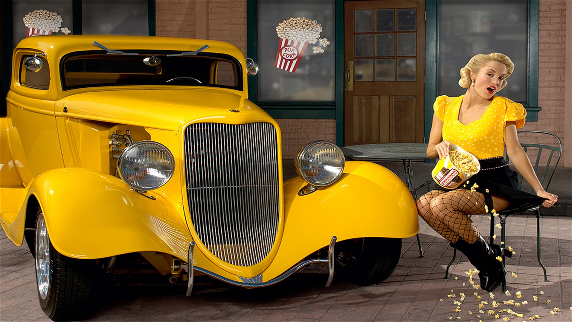 Girls  Cars Full HD Wallpaper and Background Image  1920x1080  ID:183212