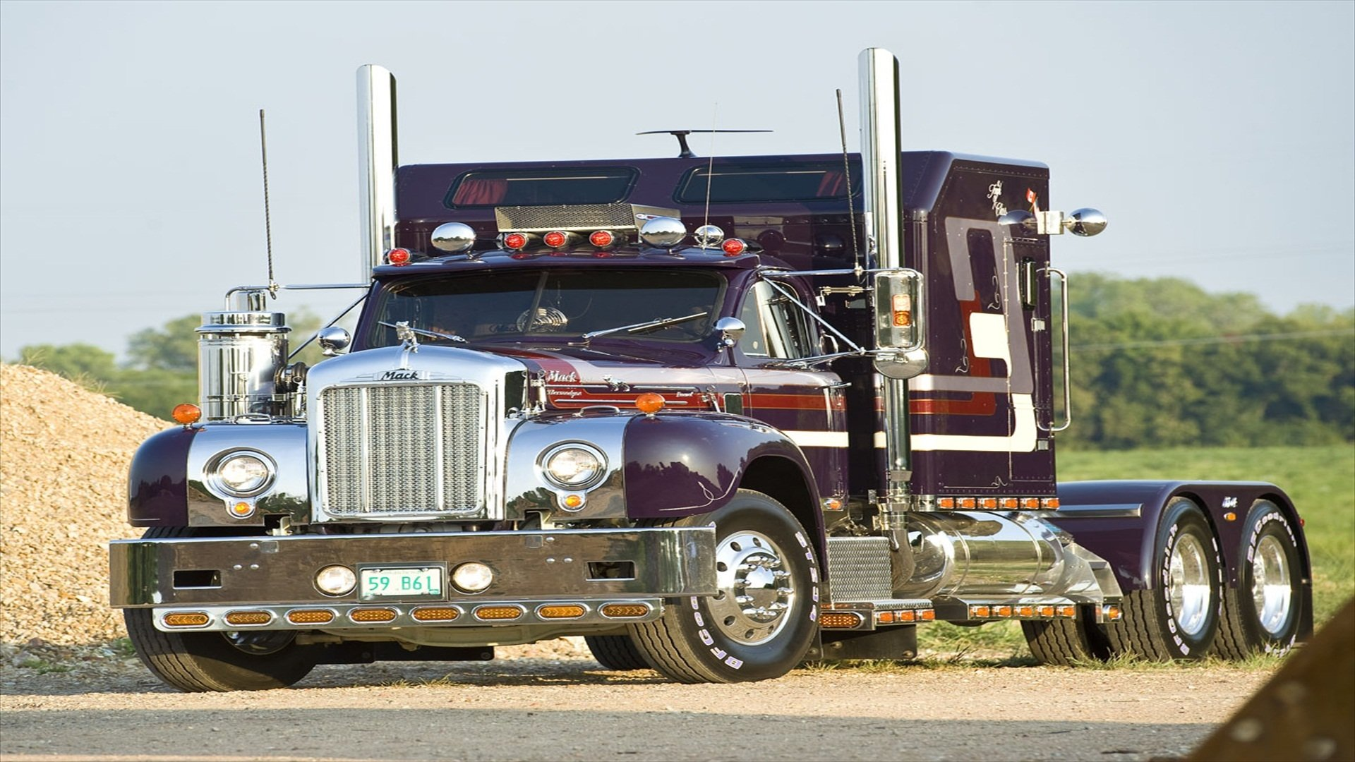 Mack Trucks Full Hd Wallpaper And Background Image