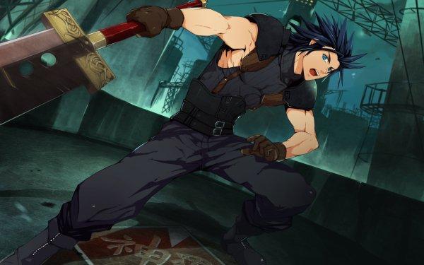 Video Game Crisis Core: Final Fantasy VII Final Fantasy Zack Fair HD Wallpaper | Background Image