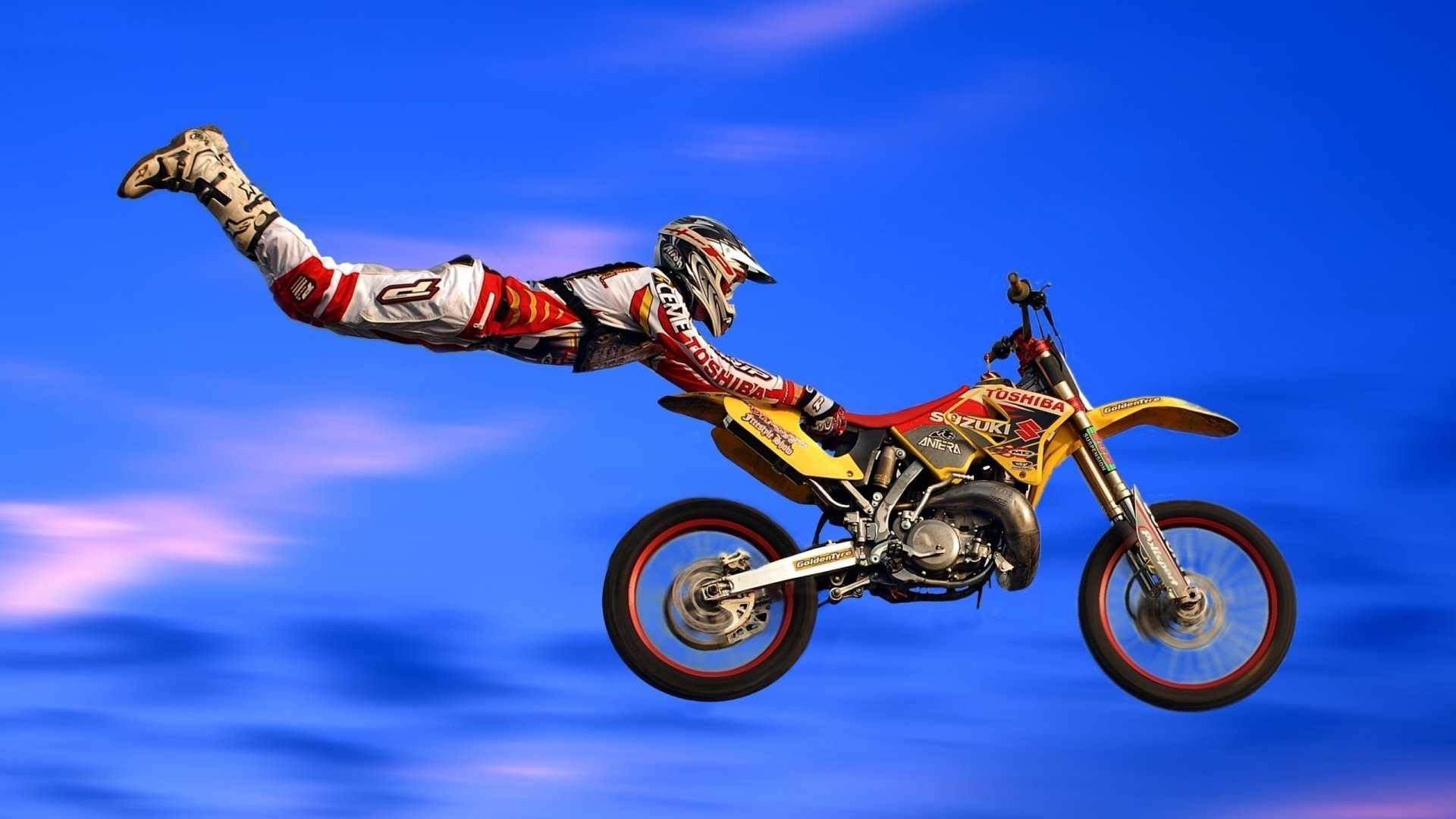 Sports - Motocross  Motorcycle Wallpaper