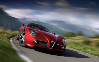 Fordon - Alfa Romeo 8C Competizione Wallpapers and Backgrounds ID : 186320